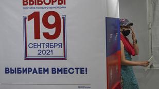 Exit poll: az orosz kormánypárt nyerte a választásokat