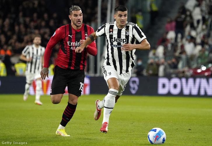 Morata szólója a gól előtt