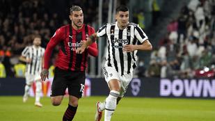 A Juventus a rangadón sem tudott nyerni, maradt a kieső zónában