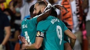 A Real a hajrában két perc alatt fordított a Valencia ellen