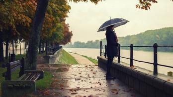 Eső, szél és hideg: ez vár ránk a következő órákban