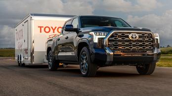 Toyota Tundra: V8 helyett ikerturbós hibrid