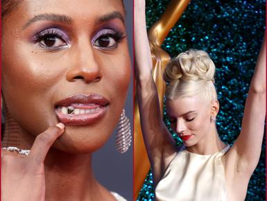 Kivillanó keblek és 22 karátos fogékszer - az Emmy-gála szettjei