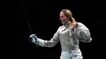A héten műtik az olimpiai negyedik kardozó Márton Annát