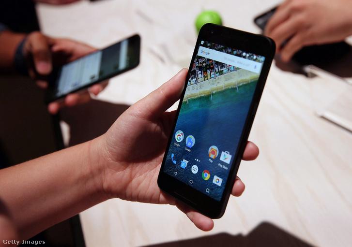 Android 6.0 operációs rendszer.
