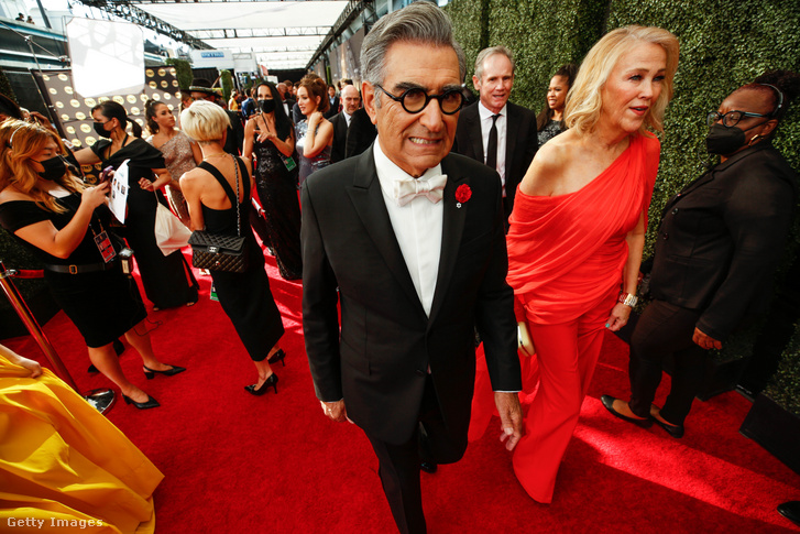 A 74 éves humorista, író, producer és színész Eugene Levy