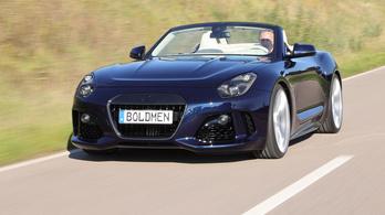 Boldmen CR4: BMW technika, karbonszálba csomagolva