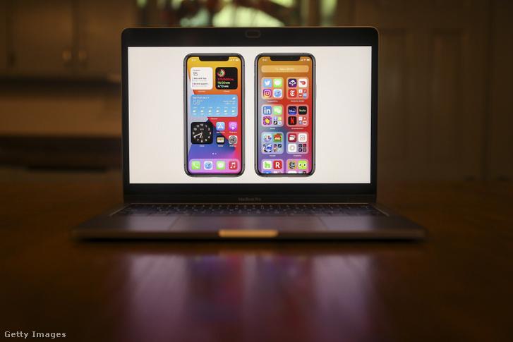 Az Apple legújabb mobil operációs rendszere, az iOS 15