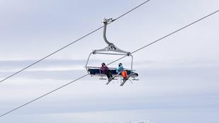Leesett az első hó az Alpokban