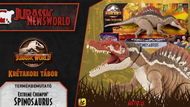 Jurassic Newsworld: Termékbemutató - Spinosaurus II
