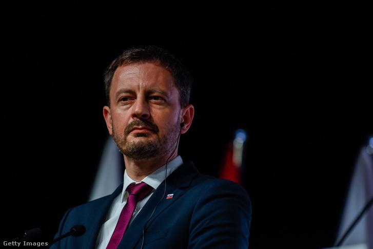 Eduard Heger szlovák miniszterelnök