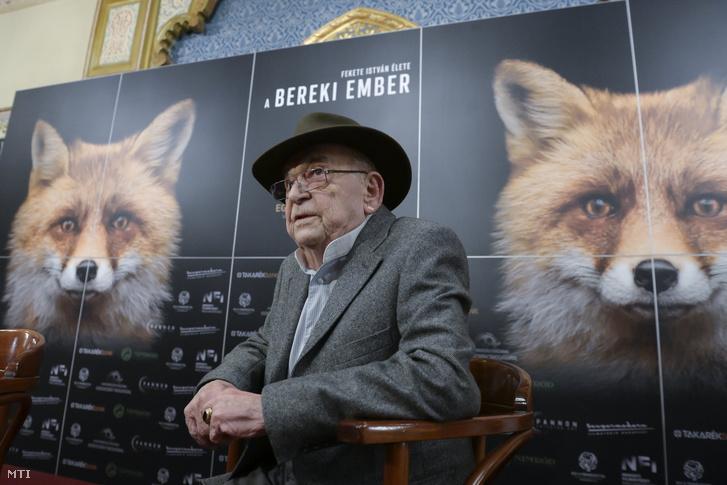 Bodrogi Gyula A bereki ember bemutatóján, 2021. szeptember 20-án.