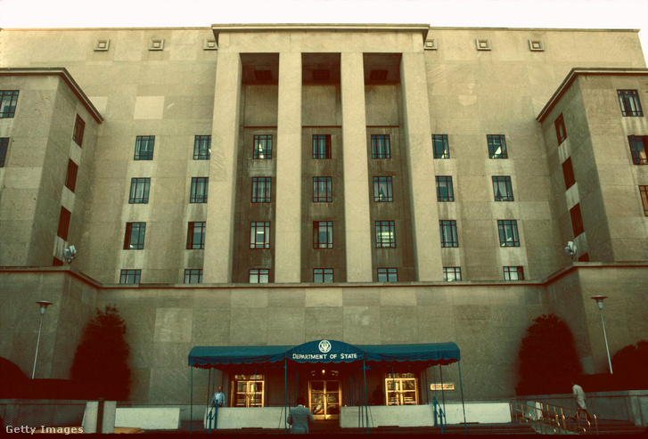 Az Egyesült Államok külügyminisztériumának épülete Washingtonban