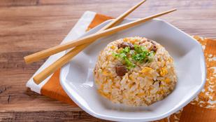 A tojásos rizs a legegyszerűbb változatában a legfinomabb
