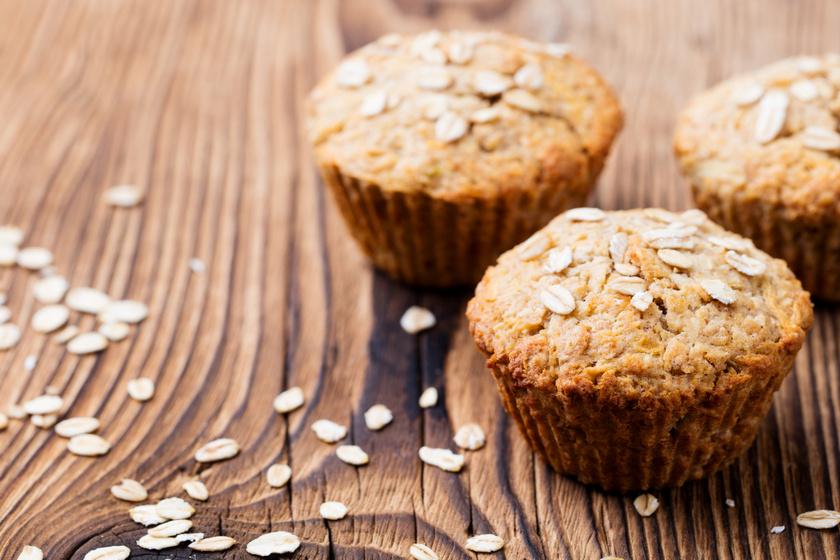 Puha és szaftos almás-banános muffin: az egész megvan fél óra alatt