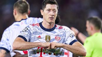 Lewandowski átvette az európai Aranycipőt