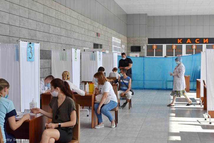 Oltóközpont Ukrajnában