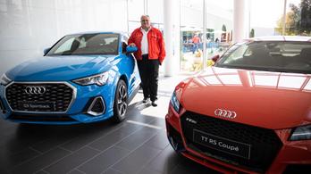 Lakatosból lett a győri Audi vezére - Exkluzív interjú