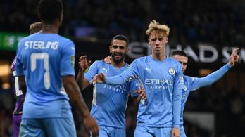 Féltucat gólt vágott a Manchester City harmadosztályú ellenfelének