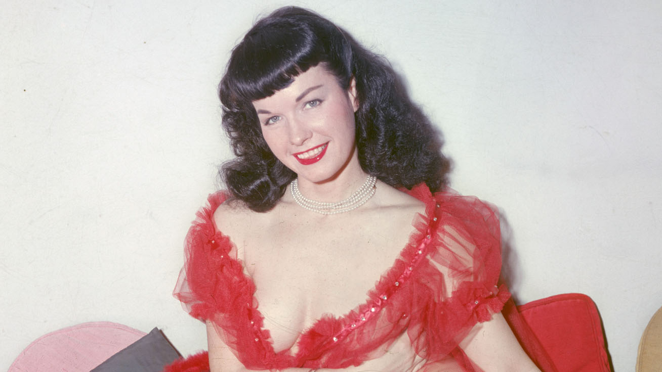 bettie page cover