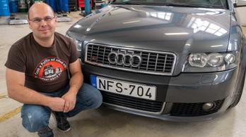 MűhelyPRN: Audi S4 Avant Quattro (B6) – 2004.