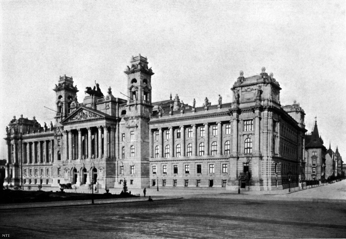 Bíróság – A Magyar Királyi Kúria épülete