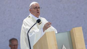 Ferenc pápa elárulta, mire gondolt Budapesten