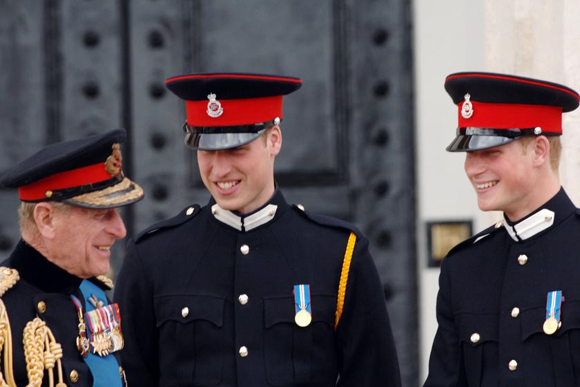 Fülöp herceg mindig nagy örömmel viccelődött az unokáival.
