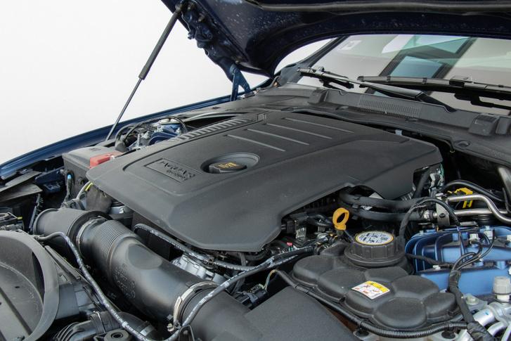 204 lóerős, 430 Nm nyomatékú, négyhengeres turbódízel. Nem ennek a zörgése lesz a csengőhangod