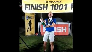 Több mint ezer kilométert futott le másfél hét alatt egy magyar ultrafutó