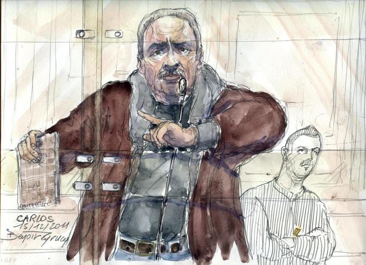 Grafika Carlosról 2011 december 15-i tárgyalásán