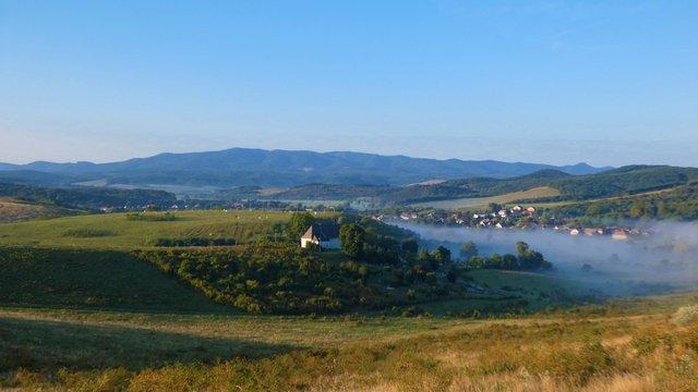Tekergés a Vajdavár-vidék nyugati peremén