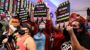 Hajléktalanok foglalták el a brazil tőzsdét