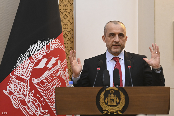 Arulláh Száleh, még Afganisztán alelnökeként 2021 augusztus 4-én