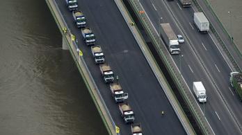Forgalomkorlátozás lesz hétvégén a hárosi Duna-hídon