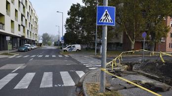 Zebrán gázoltak el egy idős asszonyt Győrben