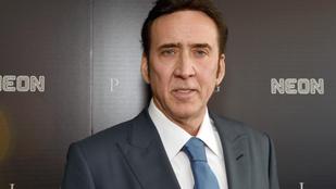 Étteremben randalírozott a mattrészeg Nicolas Cage, hajléktalannak hitték