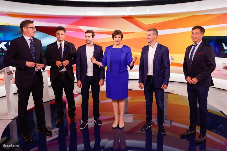 Ellenzéki miniszterelnök-jelöltek vitája 2021.szeptember 12-én