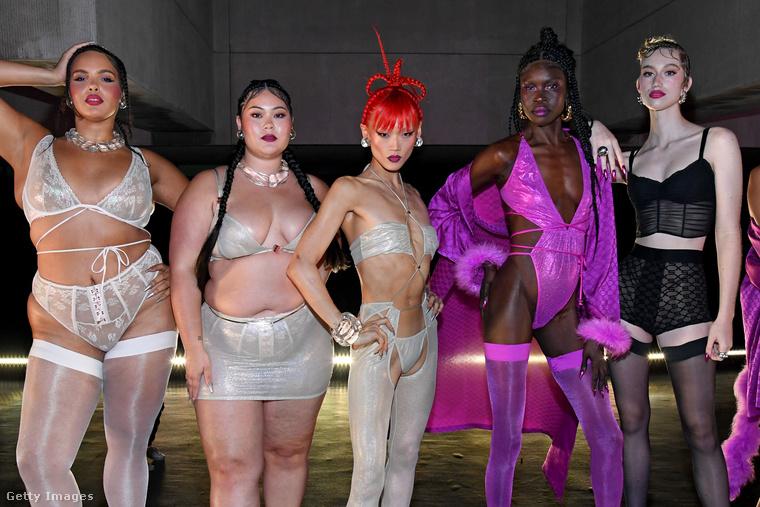 Rihanna márkájának divatbemutatóját azért is övezte nagy figyelem, mert az öltözékek és a modellek egyaránt a testpozitivitást hirdetik