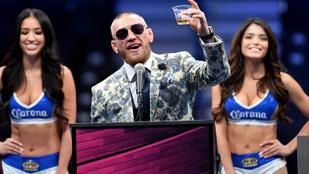 Milliárdos whiskyüzletével McGregor keresi a legtöbbet a sport világában