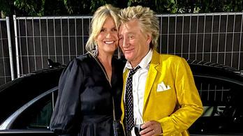 Titkos koncertet adott Rod Stewart, amikor Mészáros Lőrinc és Várkonyi Andrea esküvőjét tartották