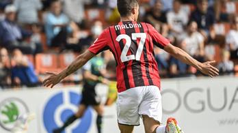Maldini-gól is kellett az AC Milan győzelméhez