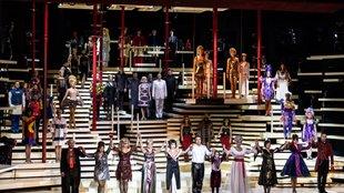 NINE - Kilenc bemutató… Budapesti Operettszínház
