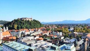 Ljubljana és a Bled tó