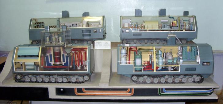 A TESz-3 atomerőmű járművei