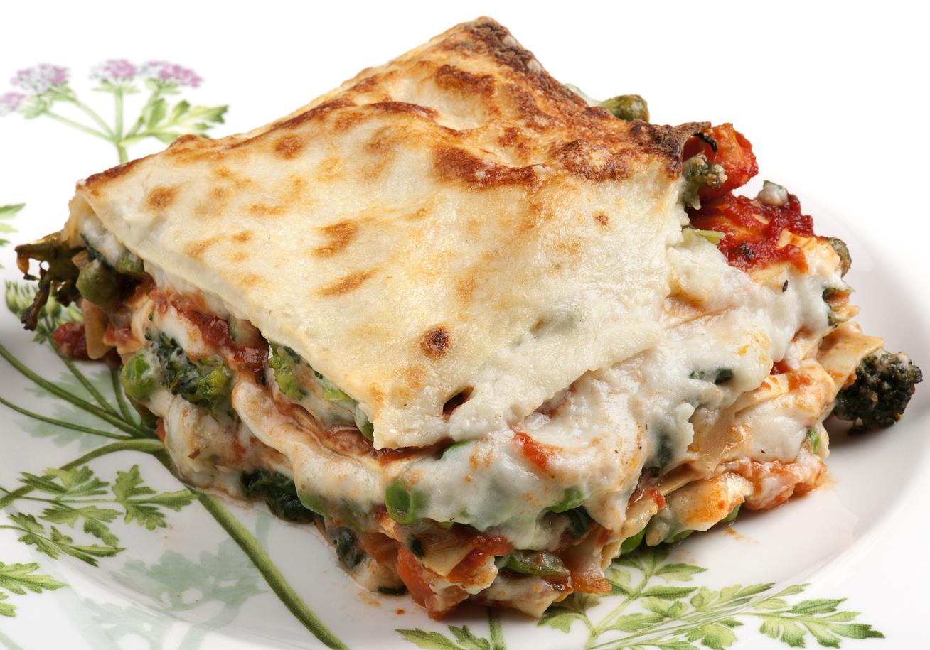 lasagne zoldseges