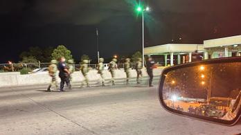 Áttévedtek az amerikai határon a mexikói katonák, füvet is vittek magukkal