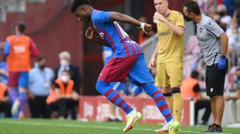 Majdnem 11 hónap után ismét gólt lőtt a Barca csodagyereke