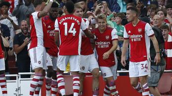 Az Arsenal is simán verte a Tottenhamet