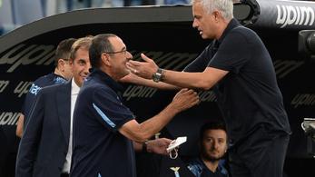 Mourinhóék elvesztették a történelmi római derbit
